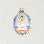 Quan Yin Ceramic Necklace