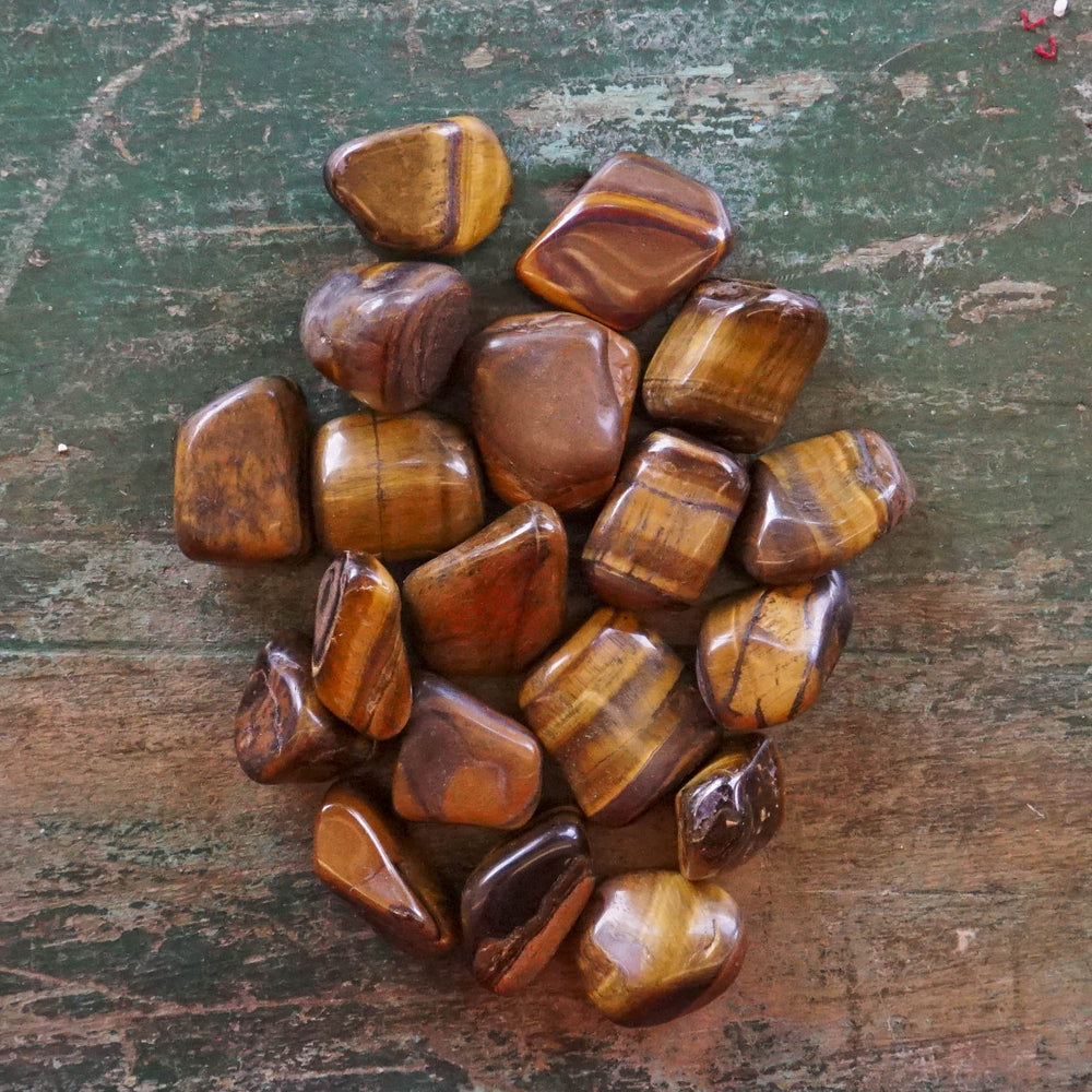 Tumbled Stone Tiger's Eye