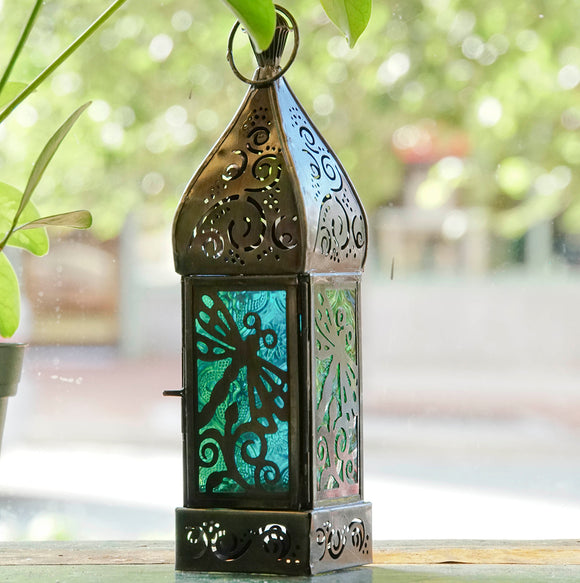 Dragonfly Tea Light Lantern