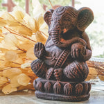 Ganesh Brown Lava Stone