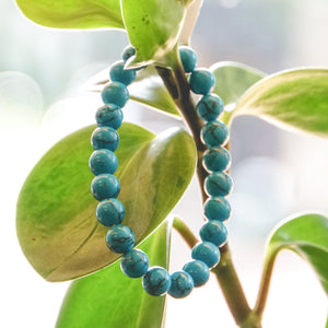 Blue Howlite 8mm Bracelet