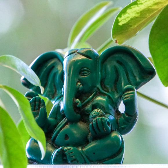 Ganesha with Large Ears Turquoise