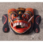 Mask Black with Gold and Red Wall Art 5""