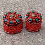 Nepalese Beaded Box