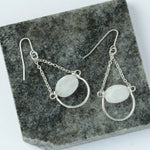 Fair Trade Moonstone Drop Earring
