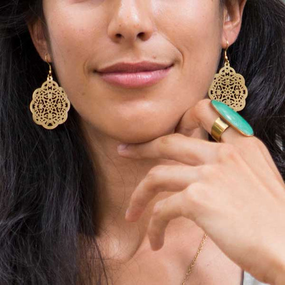 Viti Earrings - Gold