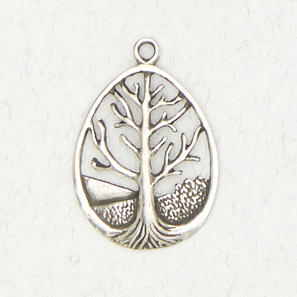 Pewter Tree of Life Necklace