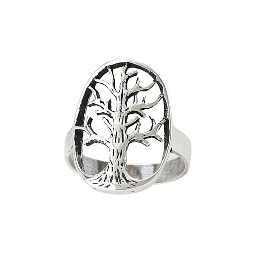 Tree of Life Silver Ring