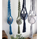 Macrame Plant Hanger - Assorted Colors