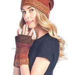Alpaca Gloves- Autumn