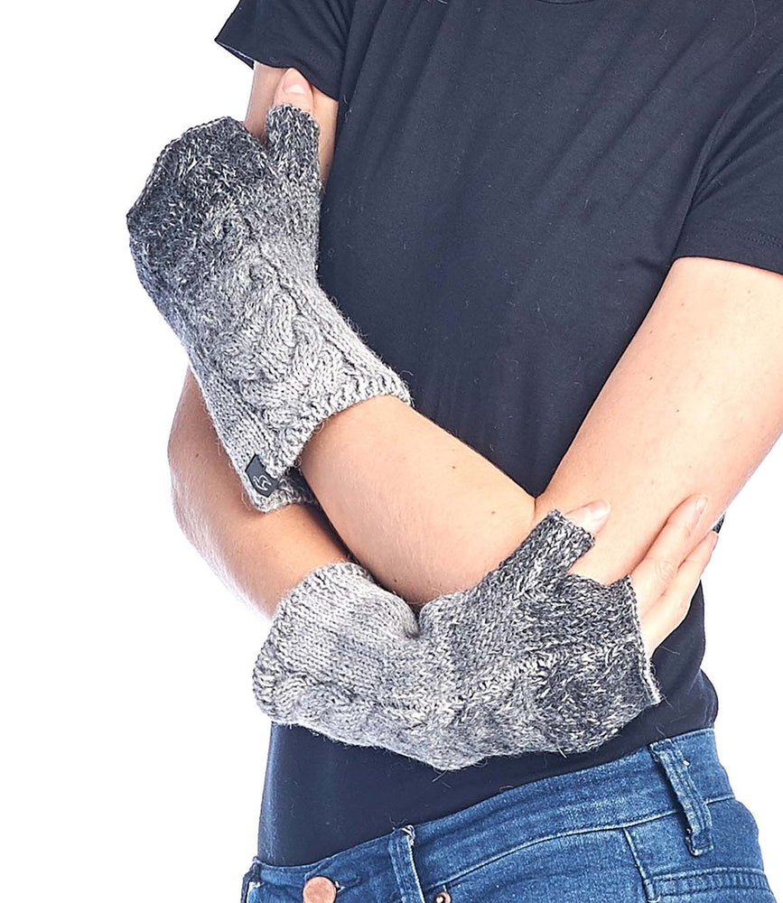 Alpaca Gloves- Charcoal