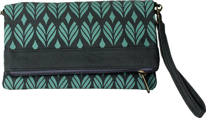 Convertible Clutch Jade Angkor