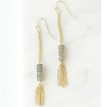 Fair Trade Labradorite Dangle Earring