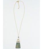 Fair Trade Labradorite and Brass Necklace