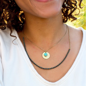 Fair Trade Layered Pendant Necklace
