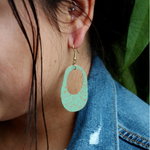 Fair Trade Painted Pond Earring