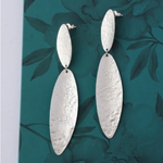 Fair Trade Oblong Leaf Earring