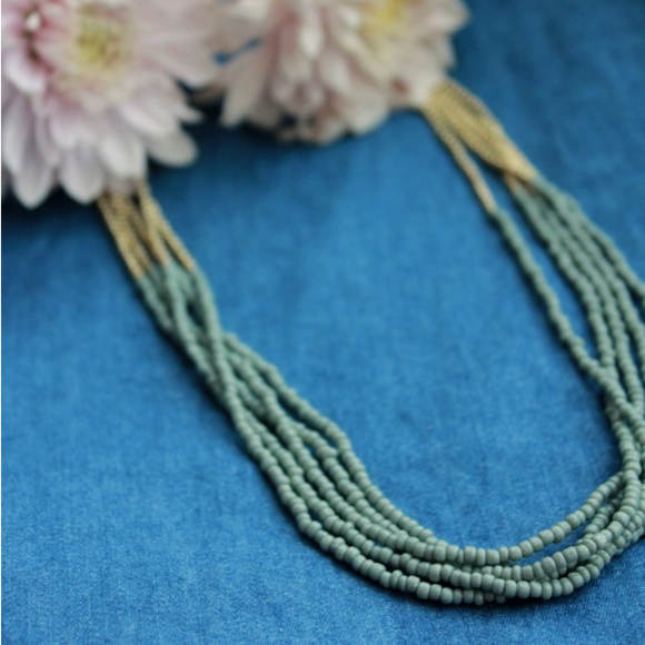 Fair Trade Grey Necklace