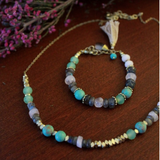 Fair Trade Beaded Pastel Necklace