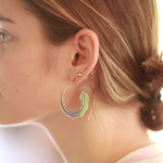 Fair Trade Curve Earring