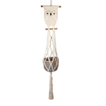 Fair Trade Owl Plant Hanger