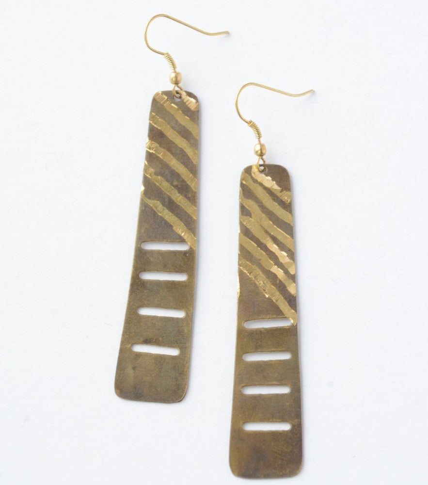 Fair Trade Ladder Earrings