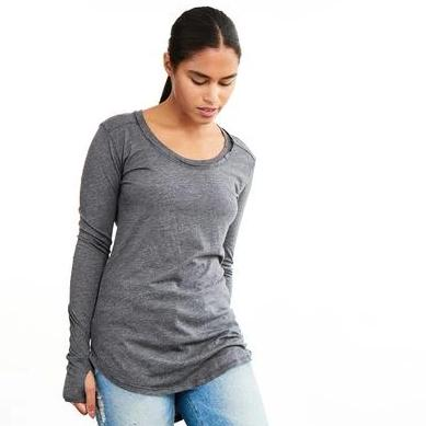 Organic Vail Long Sleeve Top