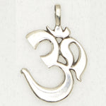 Om Pewter Necklace