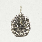 Ganesh Pewter Necklace
