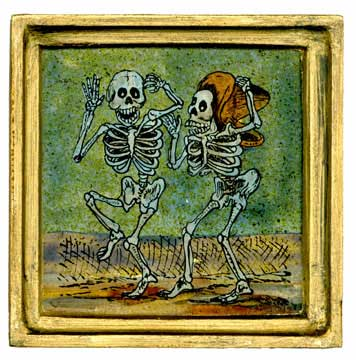 Day of the Dead Wall Tile
