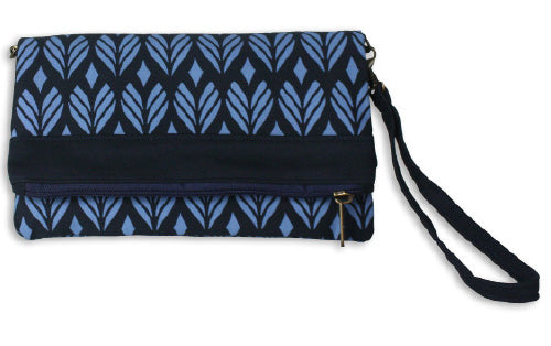 Convertible Clutch Blue Angkor