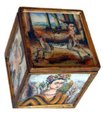 Frida Reverse Painted Box