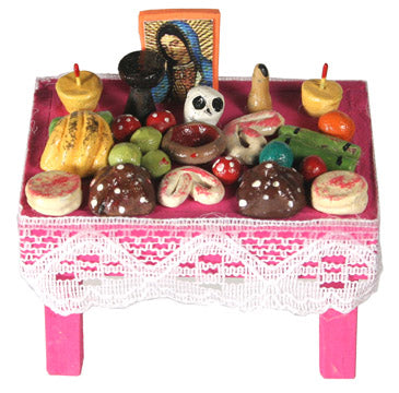 Day of the Dead Offering Table