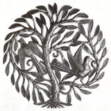 "Marriage Tree Garden Haiti Metal Art 15"" X 15"""