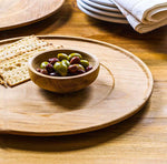Eco Wooden Centerpiece Plate