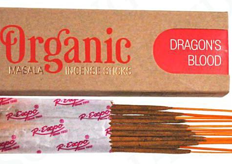 Organic Dragon's Blood Incense