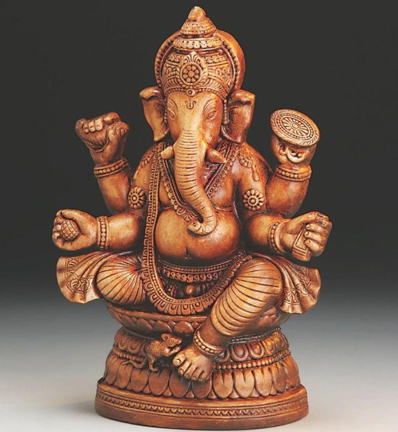 Terracota Sitting Ganesha