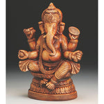 Terracotta Sitting Ganesha 11""
