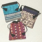 Recycled Sari Fabric Pouches