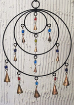 Triple Circle Chime with Bells