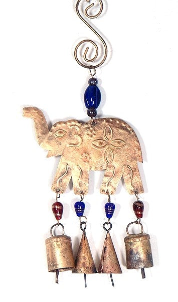 Elephant Chime with Bells