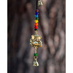 Ganesha Chime with 7 Chakra Beads