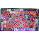 Elephant Sari Medium Tapestry