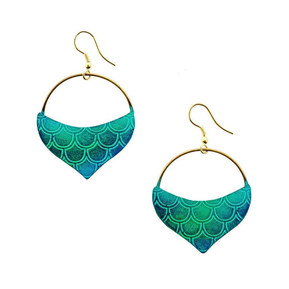 Fair Trade Mermaid Earrings