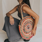 Fair Trade Chindi Shoulder Tote