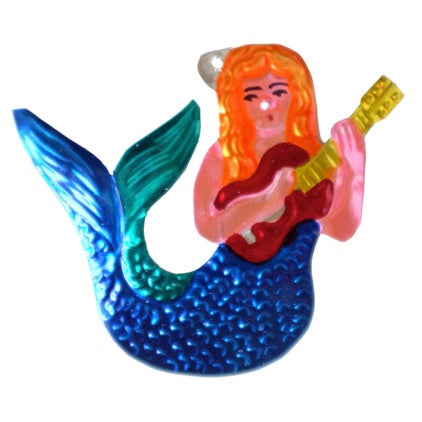 Mermaid Tin Ornament