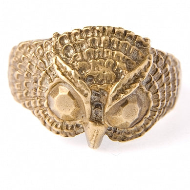 Upcycled Owl Ring