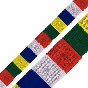 "Tibetan Prayer Flag 25 Flaps 192"" Traditional"