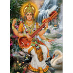 Saraswati Wall Hanging/Curtain