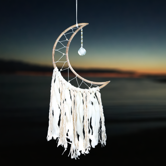 Fair Trade Moon Dreamcatcher